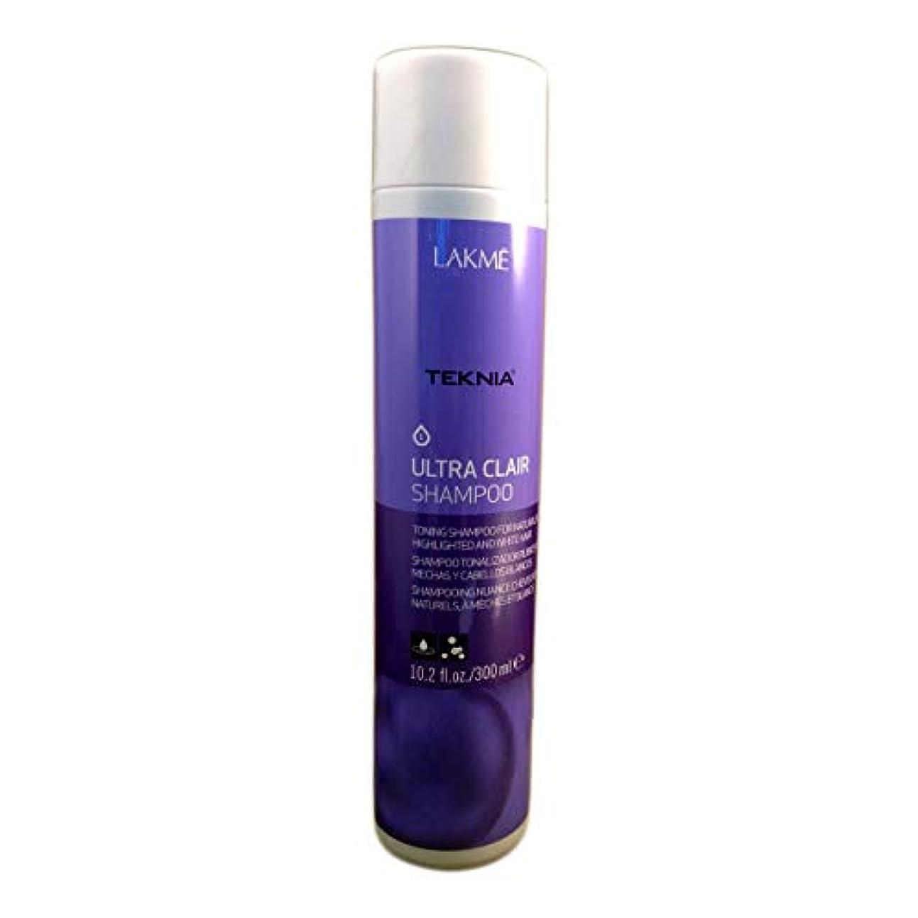 の間に攻撃的乗り出すLakme Teknia Ultra Clair Shampoo 10.2 Oz (300ml)