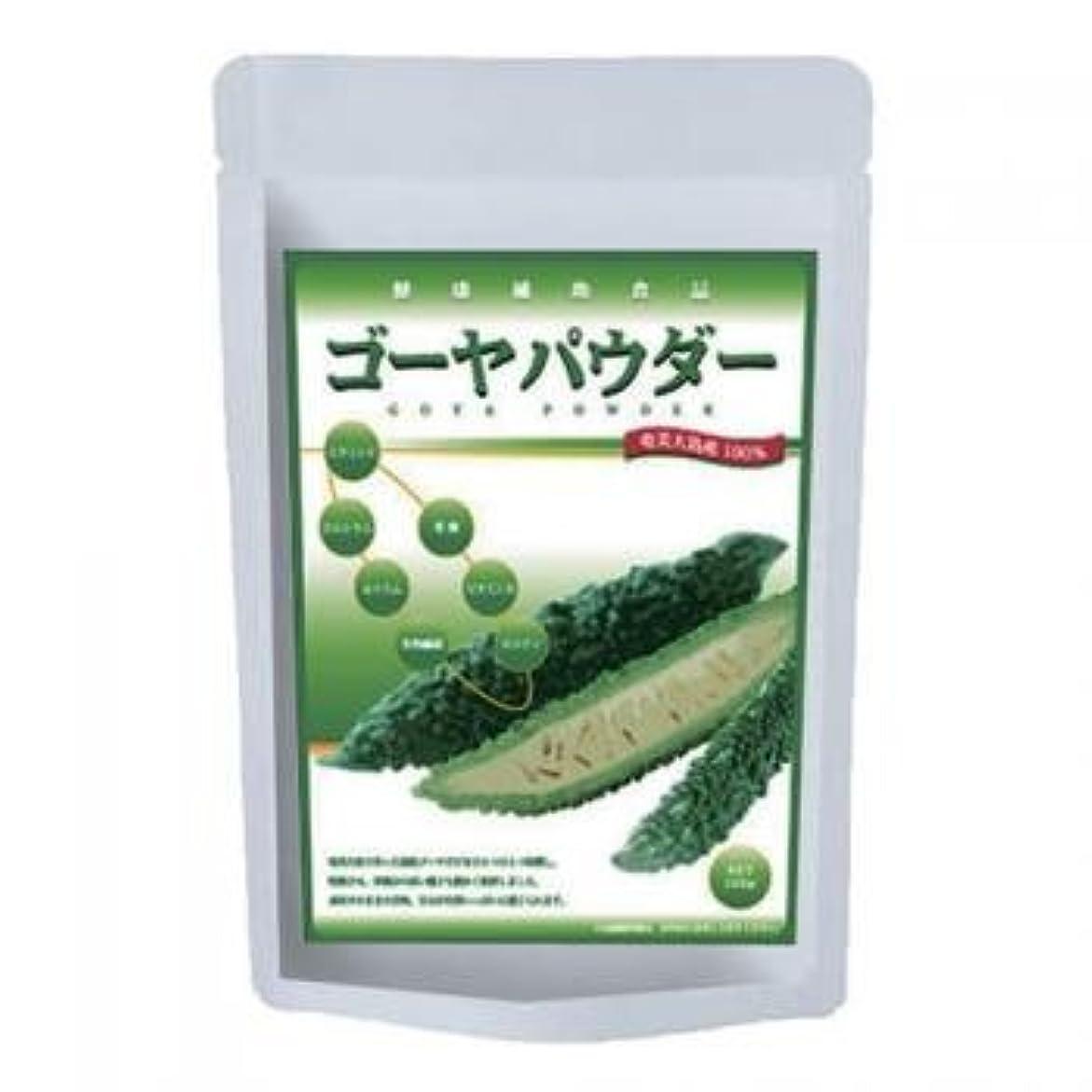 タービン補助空ゴーヤパウダー(粉末)100g種も丸ごと
