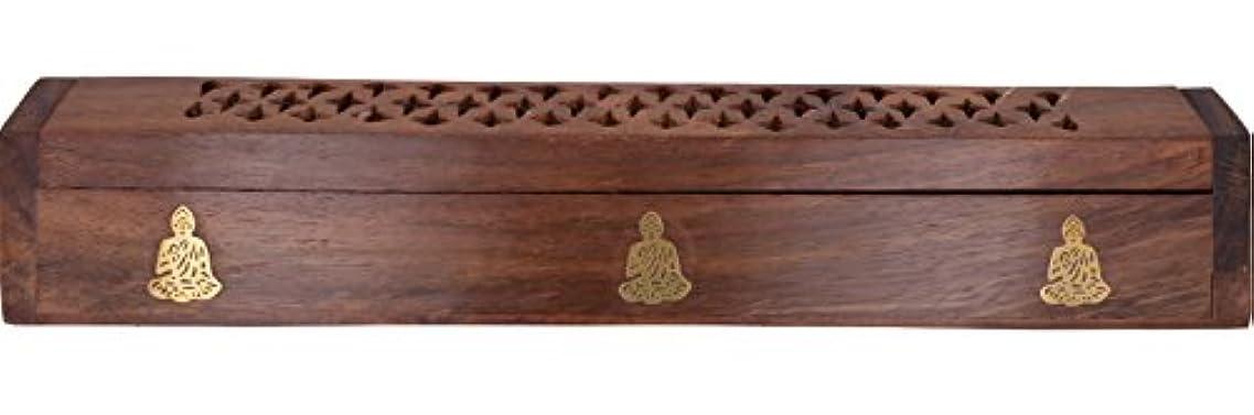 一貫したかけるネブCavelioローズ木製の棺香炉 – 仏12