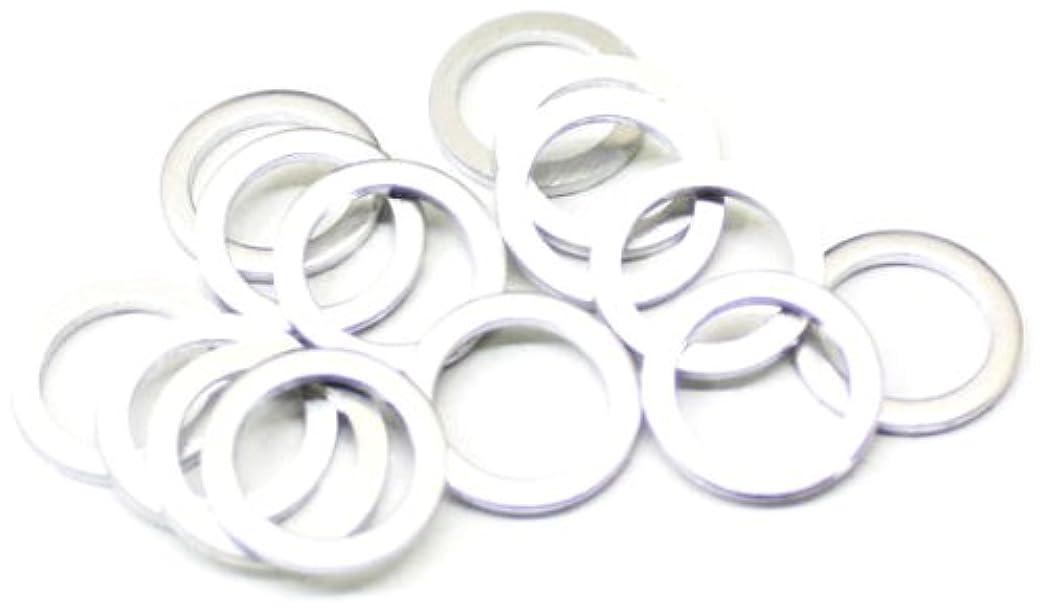 ハードウェア財政グレートバリアリーフWheels Manufacturing(ホイルマニュファクチャリング) チェーンリングスペーサー ミドル用 0.6mm 20pcs CS-0.6
