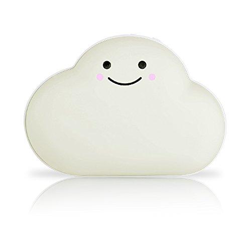 電気カイロ 可愛い雲型カイロ 3600mAh 手を暖める 腹部保温 女性看護 USB充電iPad/iPhone/Xperia/Nexus/Galaxy等スマートフォン&ノートPCに対応 冬用 寒さ対策 男女兼用 プレゼント(クリーム色 )