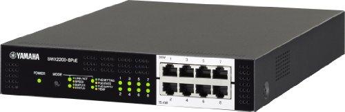 ヤマハ スマートL2スイッチ 8ポート SWX2200-8PoE