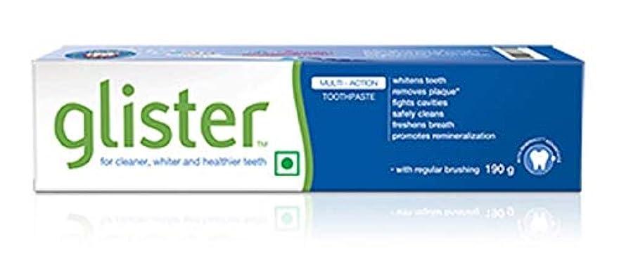 プレフィックス限られた少数グリスター歯磨き粉 - 190 g