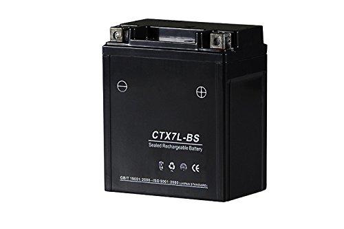 [バイクパーツセンター] シールド式 液入充電済みバイクバッテリー 7L-BS (YTX7L-BS FTX7L-BS GTX7...