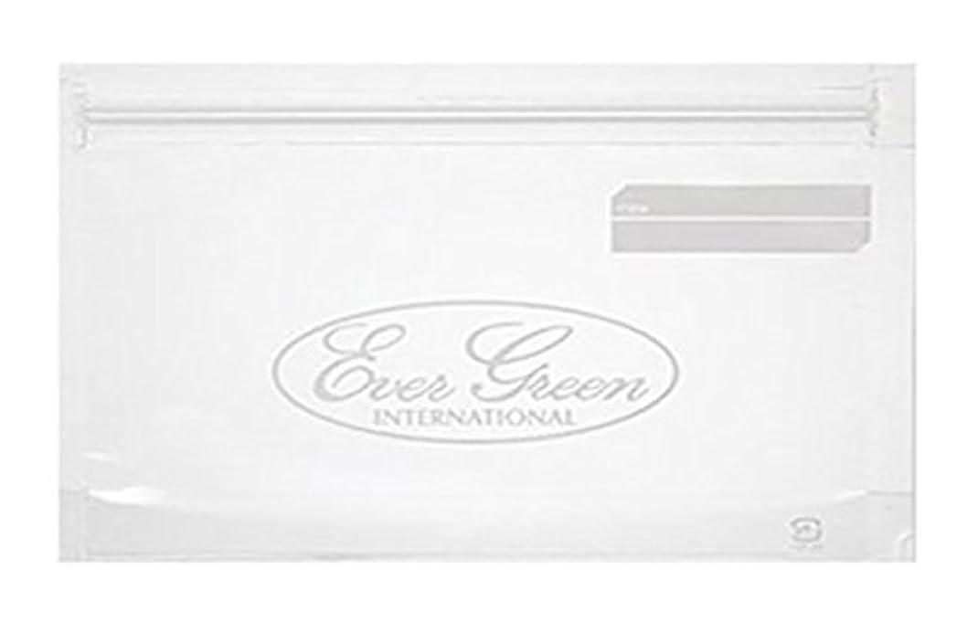 症候群欠席取り消すエバーグリーン(EVERGREEN) バッグ EG ダブルジッパーパック L 3枚