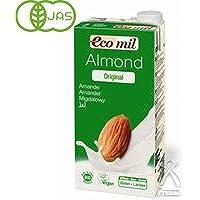 エコミル・アーモンドミルク 液体タイプ(甘味料入り) 1000ml 12個セット