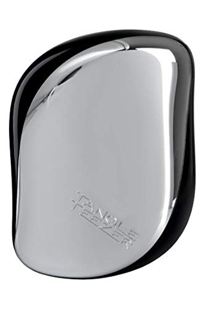 ペース藤色仕様タングル ティーザー コンパクト スタイラー シルバー Tangle Teezer Compact Styler Silver [並行輸入品]