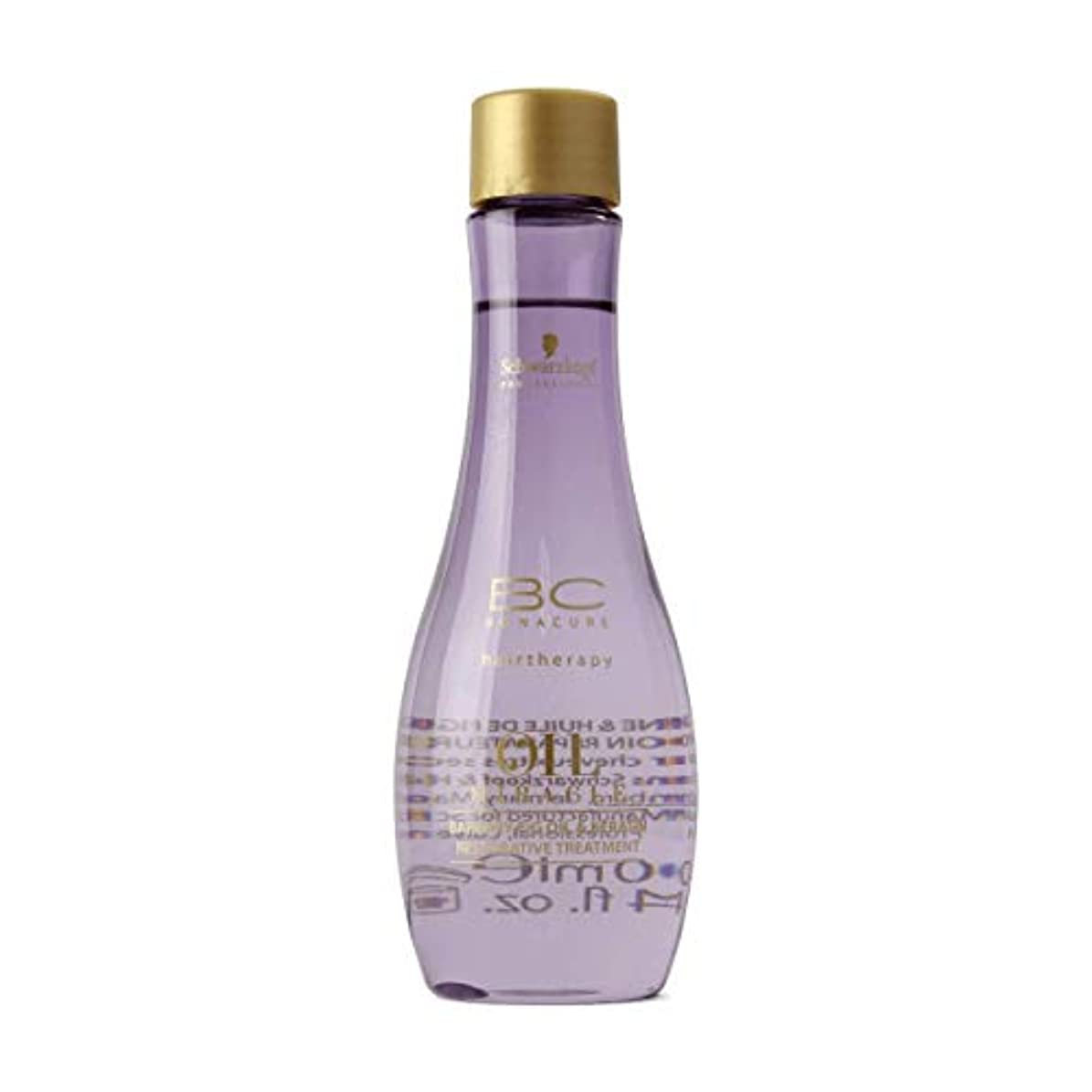 乱気流と遊ぶ雰囲気Schwarzkopf Bc Oil Miracle Barbary Fig Oil Treatment 100ml [並行輸入品]