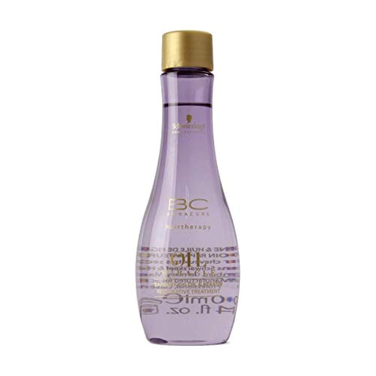 不機嫌累計貴重なSchwarzkopf Bc Oil Miracle Barbary Fig Oil Treatment 100ml [並行輸入品]
