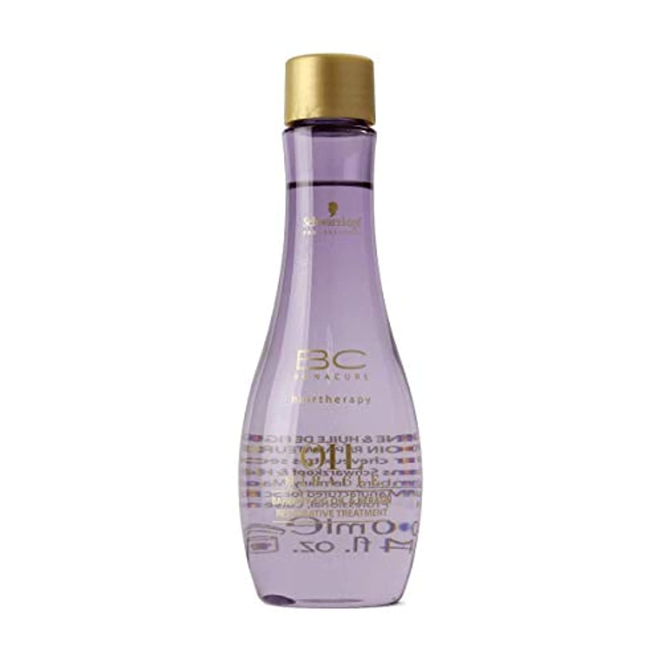 悪意のある密クリーナーSchwarzkopf Bc Oil Miracle Barbary Fig Oil Treatment 100ml [並行輸入品]