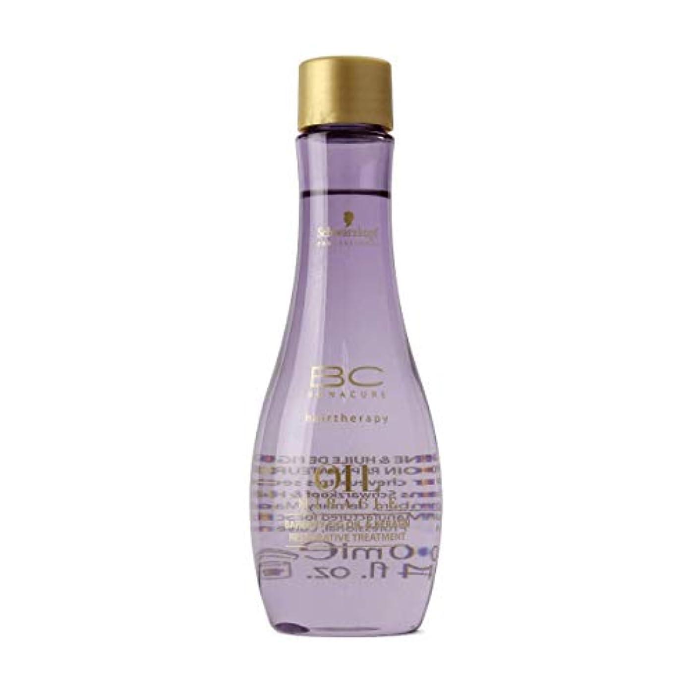 慣れる誤解腰Schwarzkopf Bc Oil Miracle Barbary Fig Oil Treatment 100ml [並行輸入品]