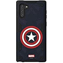 Samsung Galaxy Friends Captain America Rugged Protective Smart Cover for Note 10