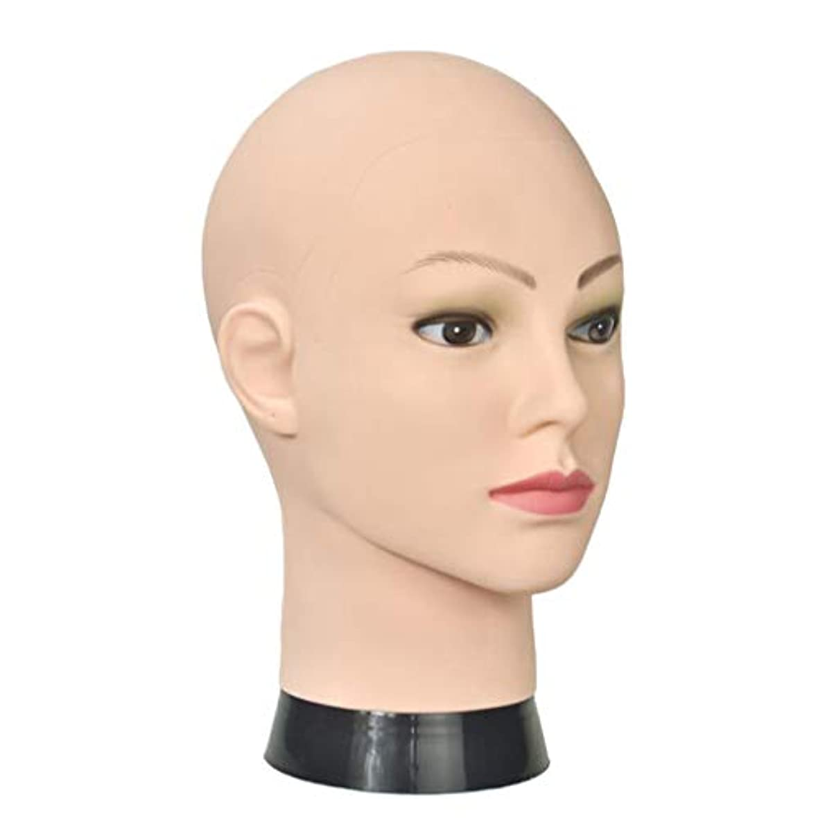 メロドラマキャンパスアレルギーToygogo プロのマネキンヘッドメイク表示スタイルドライかつら10.2インチ理髪トレーニングヘッド