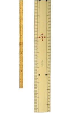 〔アダム〕 物差し Ace竹尺(袋入り)50cm No.274