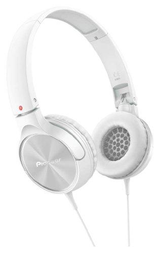 パイオニア Pioneer SE-MJ522 ヘッドホン 密閉型/オンイヤー/折りたたみ式 ホワイト SE-MJ522-W  【国内正規品】