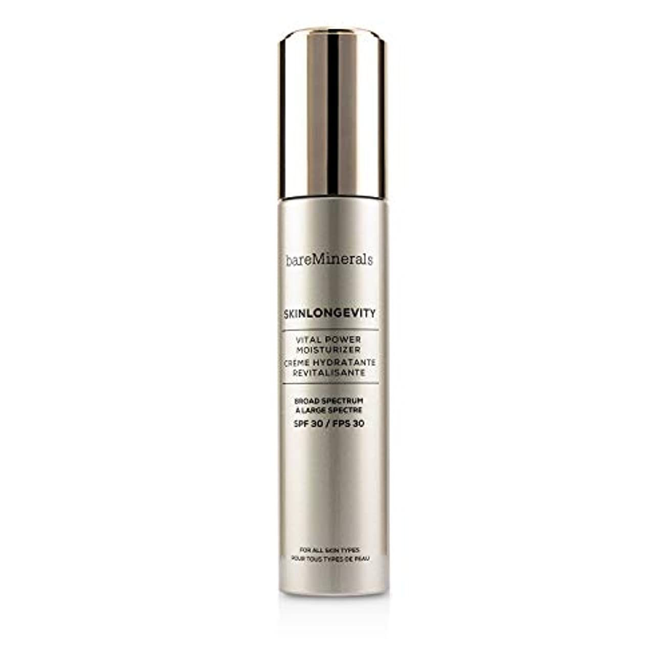 ベアミネラル Skinlongevity Vital Power Moisturizer SPF 30 50ml/1.7oz並行輸入品