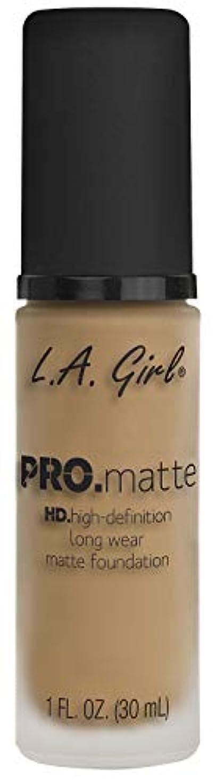 洗練浮くキャンドルL.A. GIRL Pro Matte Foundation - Sandy Beige (並行輸入品)