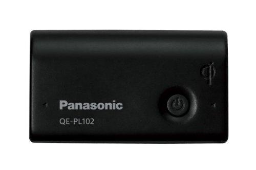 パナソニック モバイルバッテリー 2,700mAh 無接点充電(Qi) 対応 USBモバイル電源 ブラック QE-PL102-K
