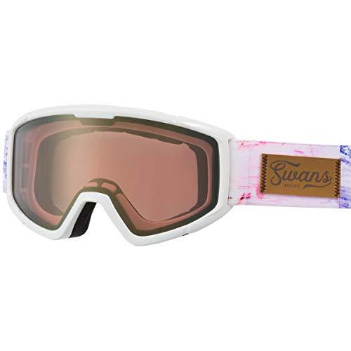 SWANS(スワンズ) 子供用 スキー スノーボード ゴーグル 5歳~12歳 くもり止め ミラー スキー スノーボード 140-MDH GLW
