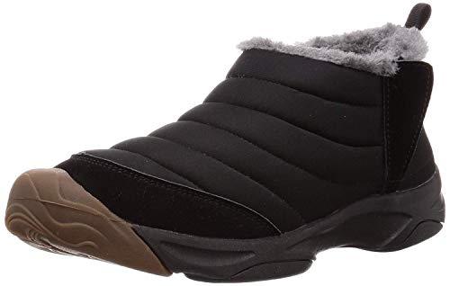 [visionreast] 23.0-28.0cm スノーシューズ サイドジップ 防寒靴 メンズ レーディス 防滑 防水 スノーブーツ ショート 軽量 ブーツ 暖かい ムートンブーツ 厚底 冬用 短靴 アウトドア 雪靴 綿靴