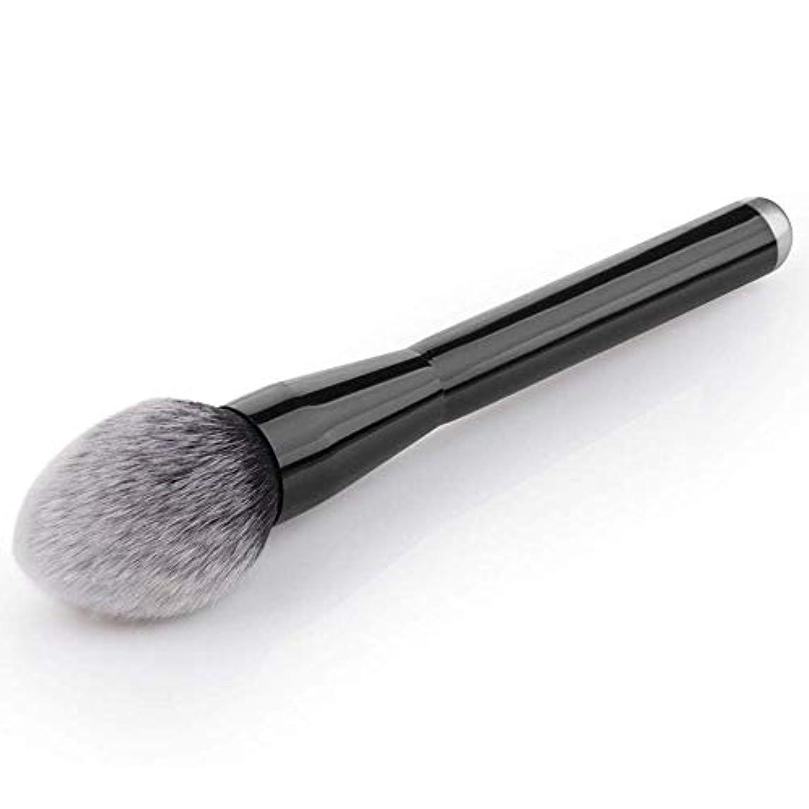 代わりの凝縮するひねりプロフェッショナルブラックミネラルフェイスルースパウダーブロンザー化粧品メイクアップブラシ