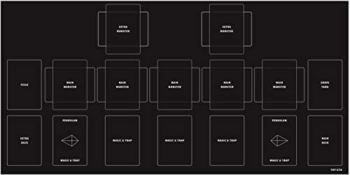 おもちゃの神様 プレイマット ラバーマット シンプルデザイン 60×30cm ふちなし 滑りにくく めくれにくい カードを傷から守り ゲームをやりやすくスムーズに 丸めやすい (遊戯王対応)