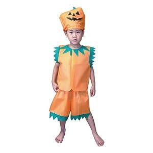 アーテック 衣装ベース ズボン キッズコスチューム オレンジ 男女共用 Sサイズ