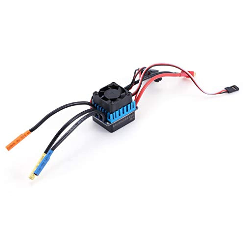 3660 3800KVセンサレスブラシレスモータ、60A ESCコンボセット1/10 RC車用