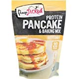 FlapJacked, プロテイン・パンケーキ・アンド・ベーキング・ミックス、バターミルク、12 oz (340 g) [並行輸入品]