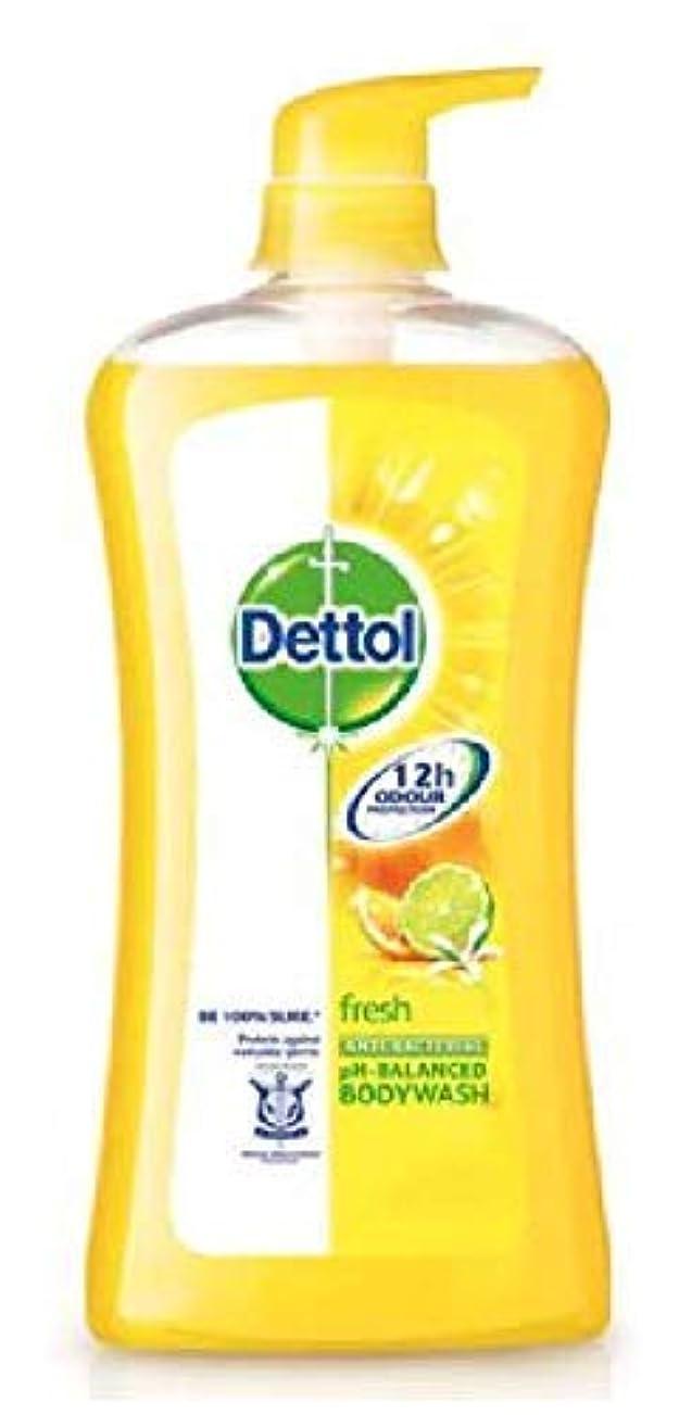 場所成人期考慮Dettol フレッシュシャワージェル950mlの、毎日の細菌を防ぐために、 - リフレッシュシトラス - 100%ソープフリー - 平衡のpH値