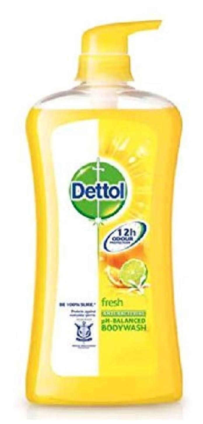 ギャングスター粘土友情Dettol フレッシュシャワージェル950mlの、毎日の細菌を防ぐために、 - リフレッシュシトラス - 100%ソープフリー - 平衡のpH値