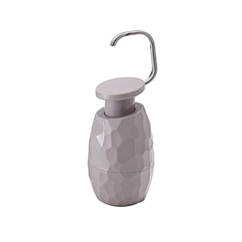妊娠した展開する時々時々TOPBATHY ソープディスペンサーボトルポンプ詰め替え用ボトル入り液体ソープシャンプーローションハンドディスペンサーキッチン(ダークグレー)