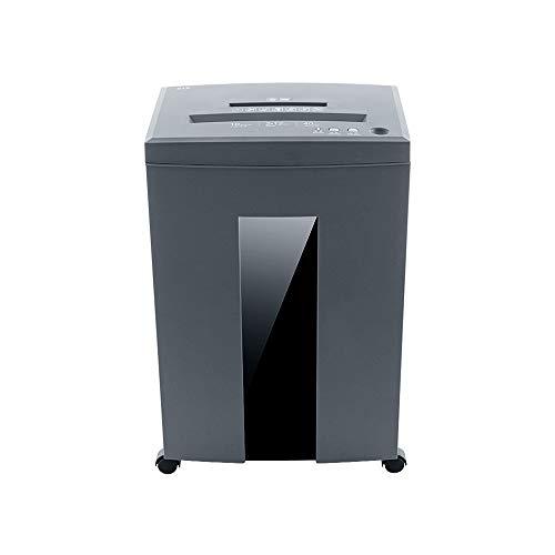 家庭用サイレントハイパワーシュレッダー可視化紙ごみバケツインテリジェント・過熱保護システム、多機能大容量シュレッダー(21L)