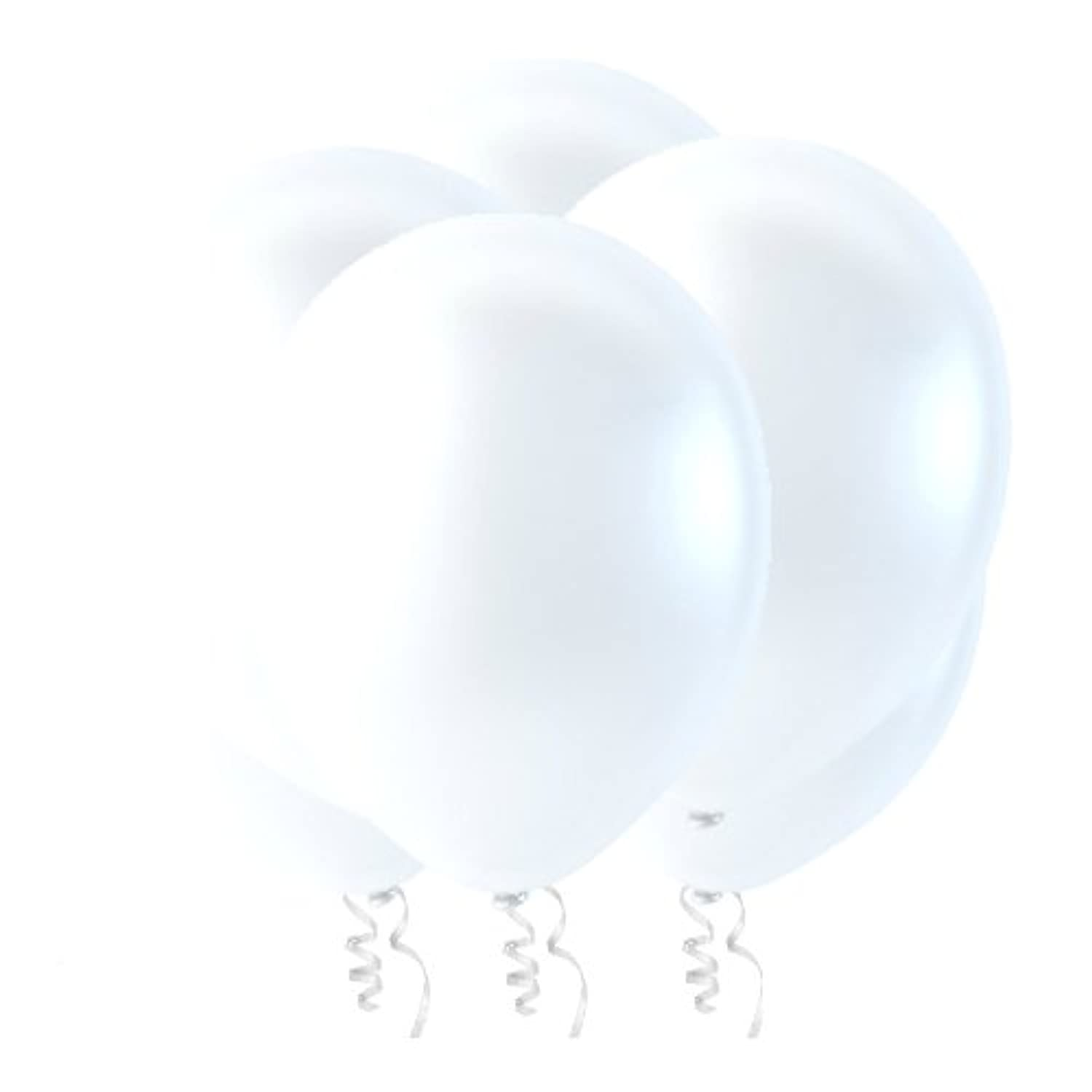 Creative Balloons 30cm Latex Balloons - Pack of 144 Piece - Decorator Snow White