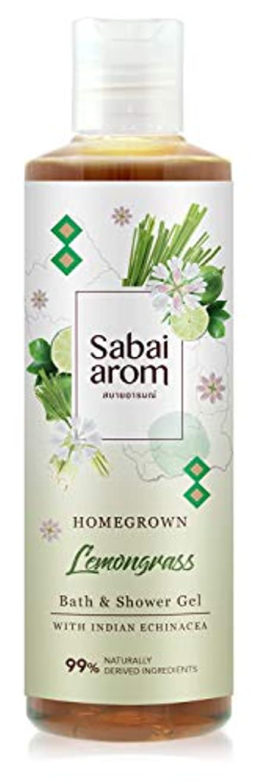 はっきりしないビデオ先サバイアロム(Sabai-arom) レモングラス バス&シャワージェル (ボディウォッシュ) 250mL【LMG】【002】