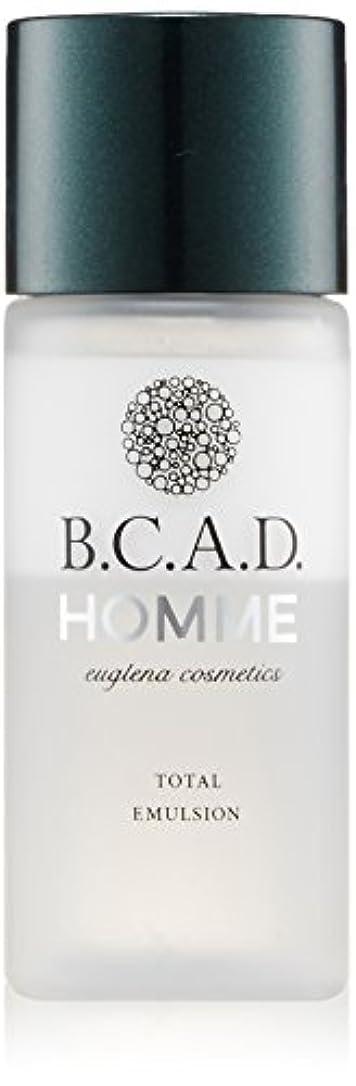 デンプシー順応性風邪をひくビーシーエーディーオム B.C.A.D.HOMME HOMMEトータルエマルジョン 30ml