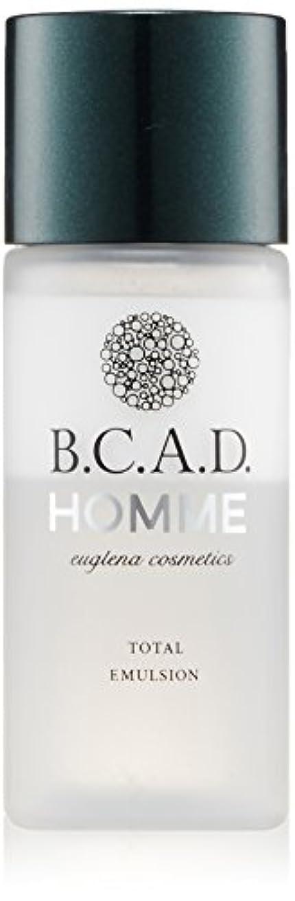 独特の通貨受粉するビーシーエーディーオム B.C.A.D.HOMME HOMMEトータルエマルジョン 30ml