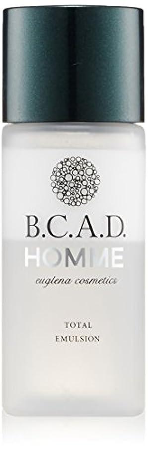 天文学スタウト噴水ビーシーエーディーオム B.C.A.D.HOMME HOMMEトータルエマルジョン 30ml