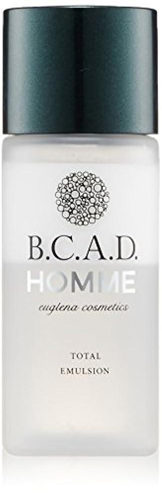 十調整する乳剤ビーシーエーディーオム B.C.A.D.HOMME HOMMEトータルエマルジョン 30ml