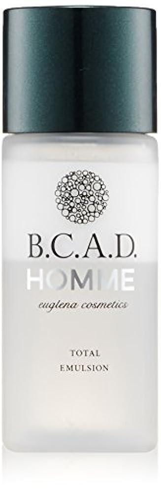 断言する風味代表するビーシーエーディーオム B.C.A.D.HOMME HOMMEトータルエマルジョン 30ml