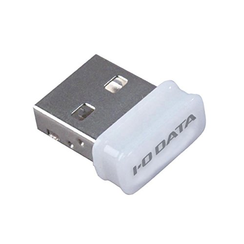I-O DATA Wi-Fi 無線LAN 子機 11n/g/b 150Mbps USBアダプター型 ホワイト WN-G150UMW