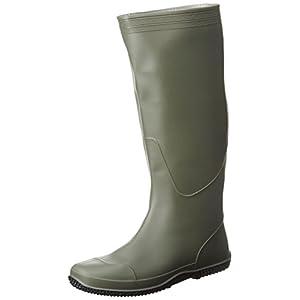 [ヘイギ] 長靴 コンパクトブーツ HG-0429 カーキ 24 cm
