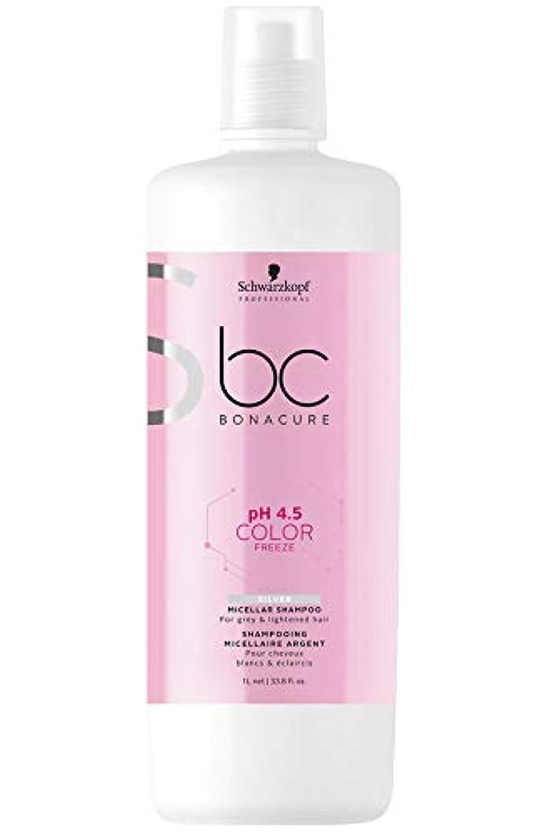 くるくる興奮熟読シュワルツコフ BC カラーフリーズ pH 4.5 シルバーシャンプー (グレイ&明るい髪色用) 1000ml/33.8oz並行輸入品