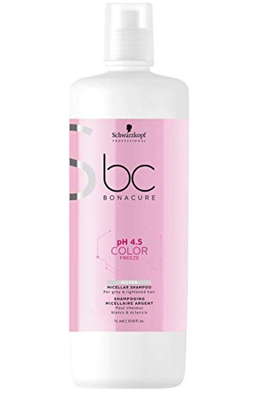 ラバ予想外探すシュワルツコフ BC カラーフリーズ pH 4.5 シルバーシャンプー (グレイ&明るい髪色用) 1000ml/33.8oz並行輸入品
