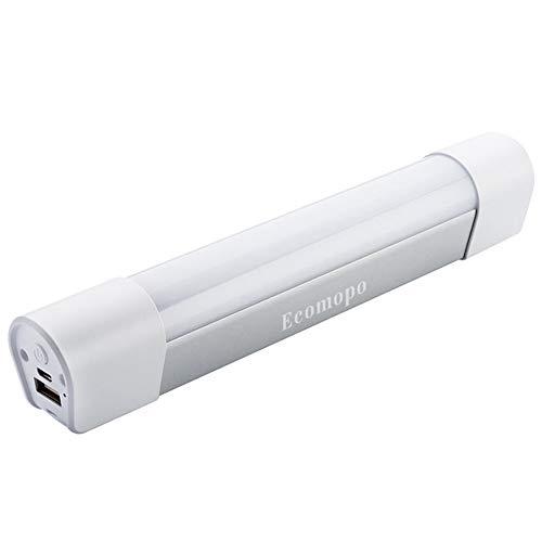 Ecomopo LEDライト 充電式 usb 作業灯 モバイルバッテリー 4400mAh マグネット...