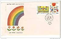 First Day Cover - 17 dec. '90 Greetings. (FDC-1990)