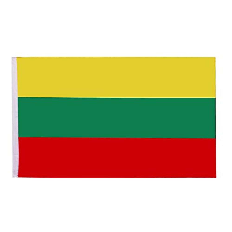Perfk 国旗 フラグ バナー 歴史的イベント、軍事会 ハンギング 装飾 全2デザイン - リトアニア