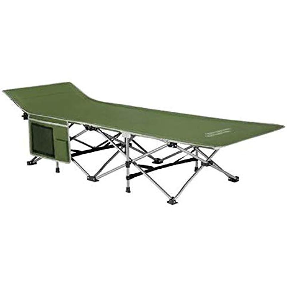 刻むマラウイ世代キャンプベッド屋外同伴ベッド屋外折りたたみベッドポータブル折りたたみ二段ベッド設置なし (Color : Dark grey)