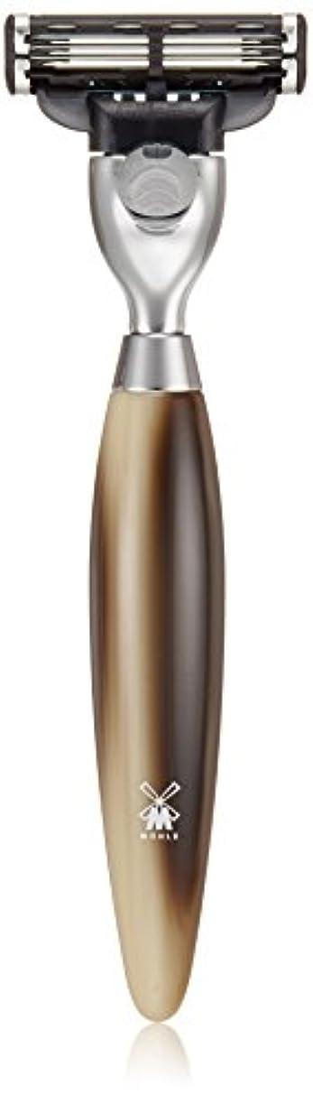 ミューレ KOSMO レイザー(Mach3) ホーンブラウンレジン R872M3
