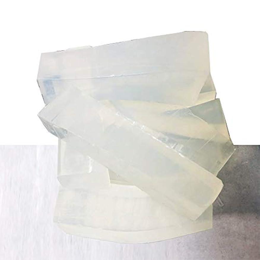 効率腐敗裂け目グリセリンソープ(MPソープ)2kg(2,000g)クリア